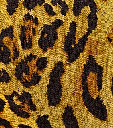 Animal print on fabric  photo