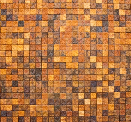 Traditional ancient on the wall tiles  Stock Photo - 13650370