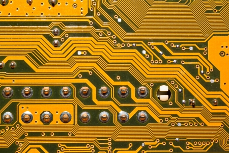 electronic circuit board Stock Photo - 13650698