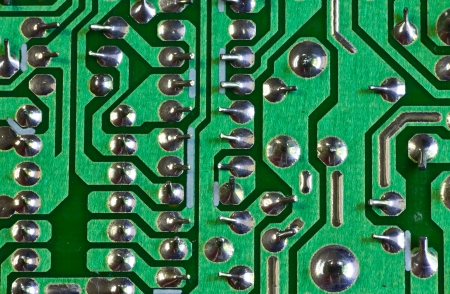 The electronic circuit board for background  photo