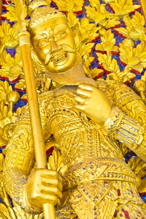 generality: Art Thai style in temple, Generality in Thailand, any kind of art decorated in Buddhist church etc  created with money donated by people, no restrict in copy or use Editorial
