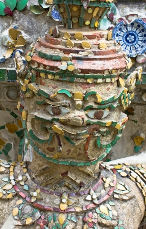 The face of giants, Generality in Thailand, any kind of art decorated in Buddhist church etc  created with money donated by people, no restrict in copy or use photo