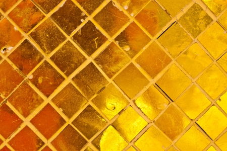 Gold tile background