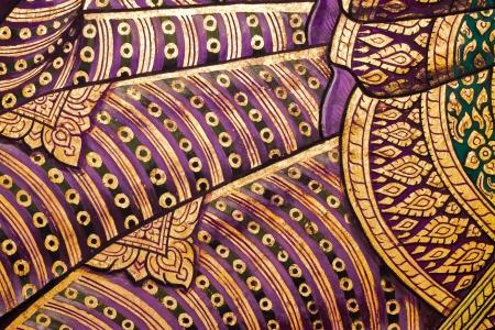 thailand art: Vintage traditional Thai style