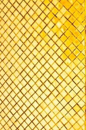Gold tile background