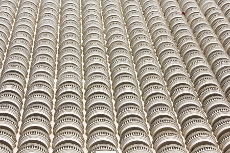 Pattern wall of  building Stock Photo - 16132231