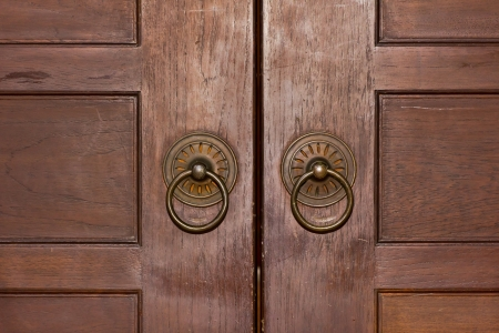 Old door knocker Stock Photo - 16901053