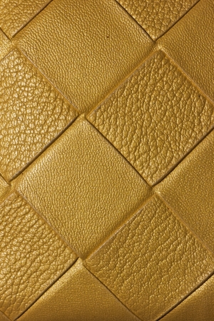 Golden Texture on leather background photo