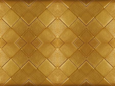 golden texture: Trama d'oro su sfondo di cuoio