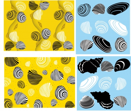 shell of a snail Stock Vector - 15790448