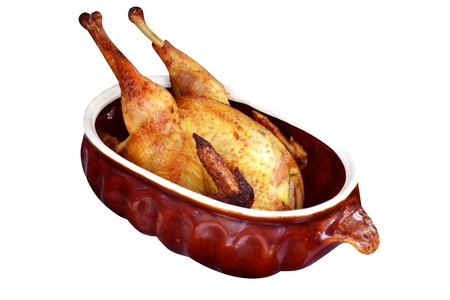 dish of baked duck Stock Photo - 16394500