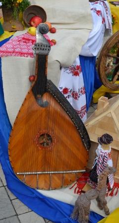 musical instrument bandura Stock Photo - 24681555