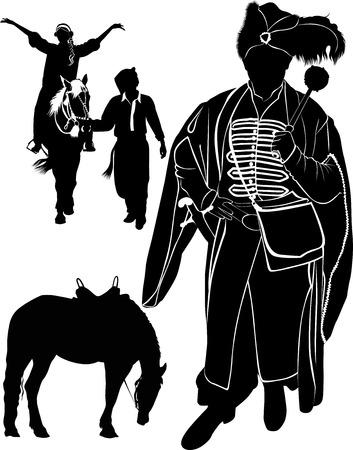 cossack: horseman Cossack