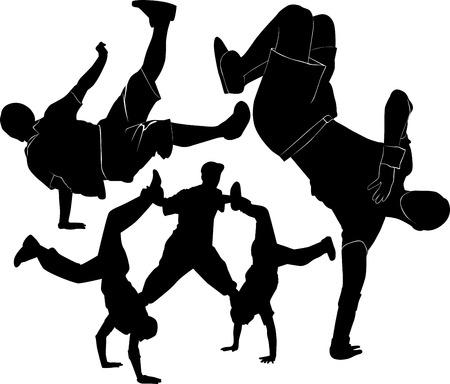 break dance: breakdance silhouette break dance