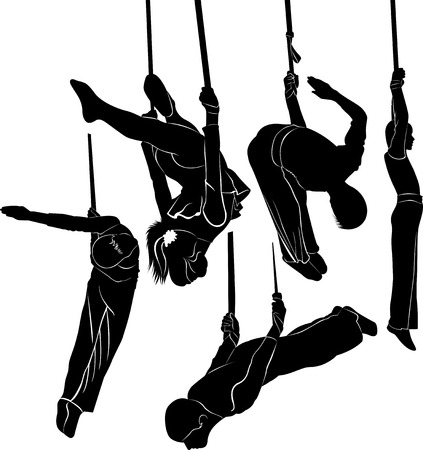 gimnasia: Gimnastas acróbatas