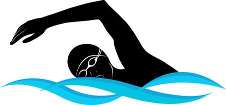butterfly stroke: swimmer athlete