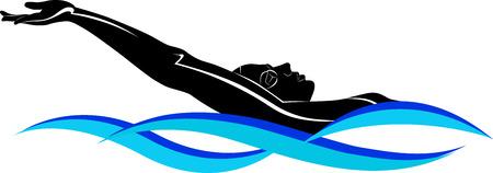 triathlon: swimmer athlete