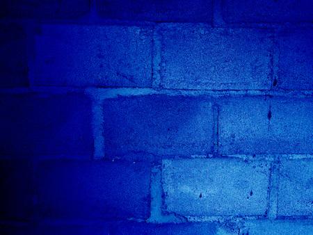 blue brick wall, brickwork background, blue brick