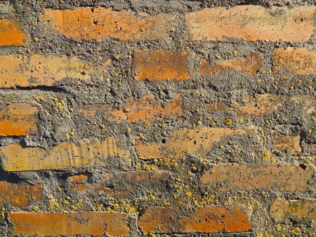 Background of old vintage brick wall, brick wall brickwork background.