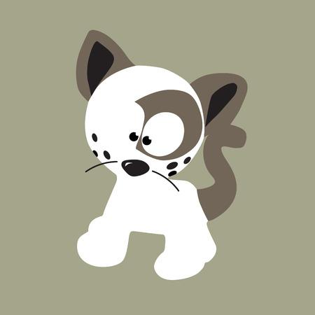 clean cat vector Vector