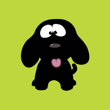 droopy: Playful Puppy Vector