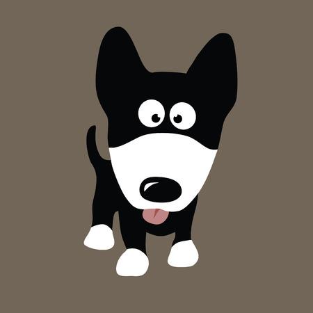 dog: Wolf Dog Vector