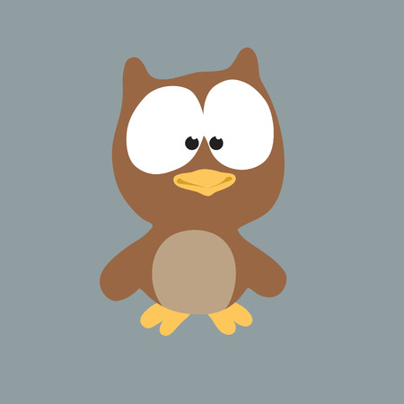 Night Owl Stock Vector - 4445615