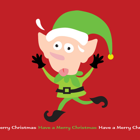 holiday stress: Stressing Elf
