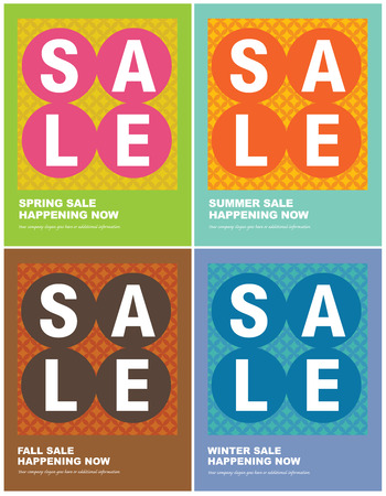 spring sale: 8.5x11 Seasonal Sales FlyerPoster templates