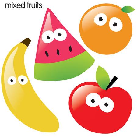 Fruit set 1 Stockfoto - 4578067