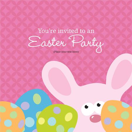 Easter Invitation Stock Vector - 4578098
