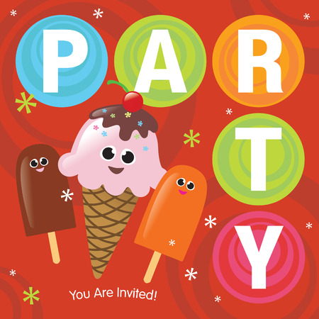 popsicle: Party Invitation