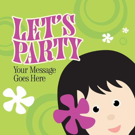hula: Party Invitation