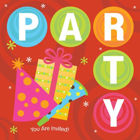 noise maker: Party Invitation