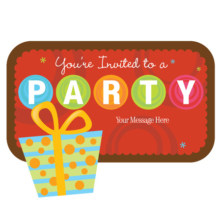 Isolated Gift with sign Vector