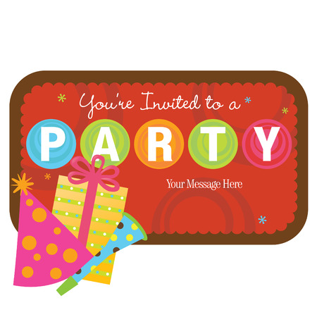 handout: Isolated party items with sign