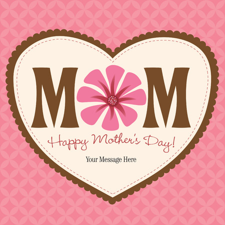 Happy Mothers Day Card Stock Vector - 4775888