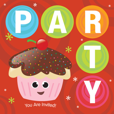 Christmas Party Invite Vector