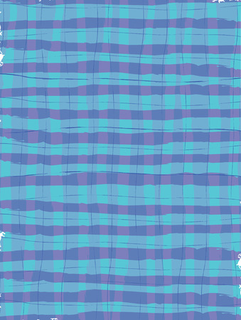 Brush Stroke Plaid Background