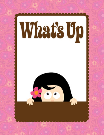 What's Up Flyer/Poster Template Stock Vector - 5528965