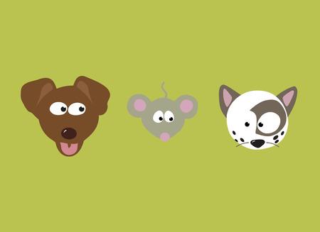 Best Friends Set Illustration