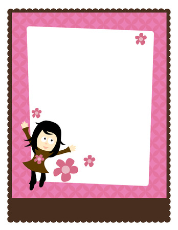 promotion girl: 8.5x11 FlyerPoster Template