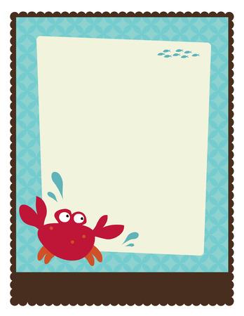 crabs: 8.5x11 FlyerPoster Template