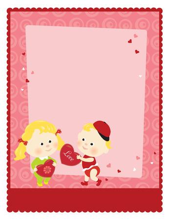 8.5x11 Valentine�s Template  Vector
