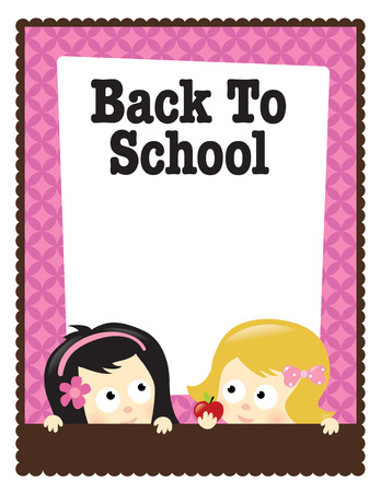 8.5x11 Back To School  Stock Vector - 10424678