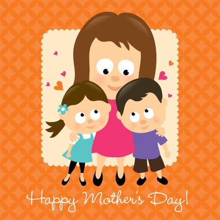 Happy Mothers Day Hispanic Vector