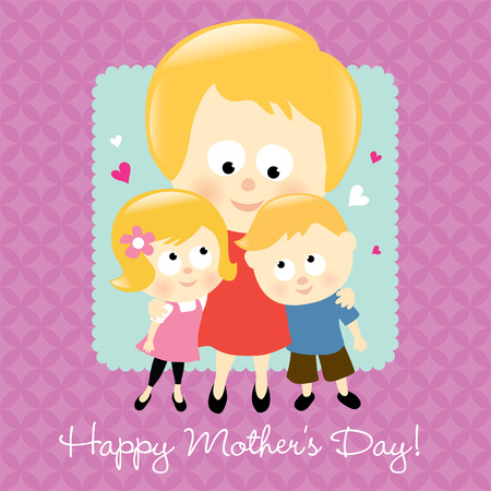 Happy Mother's Day Blonde Stock Vector - 6770113
