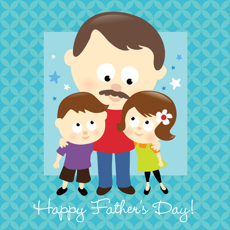 Happy Fathers Day 2 向量圖像