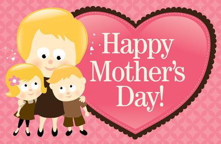 Feliz día de la madre banner - español Foto de archivo - 6858931