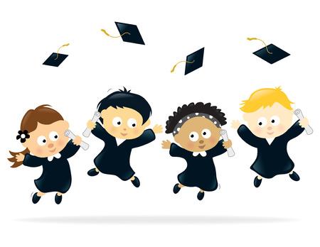 graduacion caricatura: Fiesta de graduaci�n